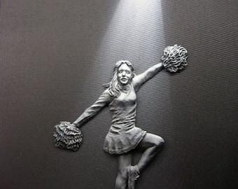 Spotlight Art - Cheerleader