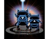 MovieCat - Tron - 8 x 10