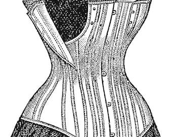 Corset Dressform (1895)