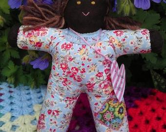 Hand made Pipsqueak Patchie rag doll Arlene