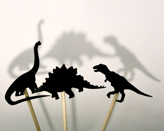 Dino Shadow Puppets