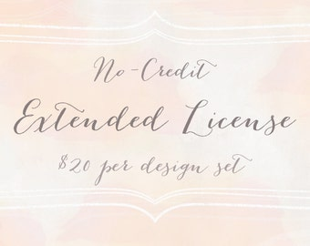 Extended No-Credit Commercial License