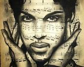 Giclee print of Prince