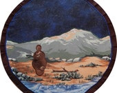 Mythala: Earth Mother Mandala...Myth...Mythala (Wall Hanging, Altar Cloth, Prayer, Meditation, Medicine Wheel, Sacred Art, Ceremony, Ritual)