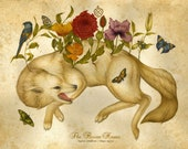 The Flower House - Limited Edition Print - Fox Print