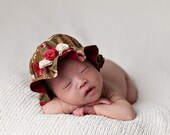 Mob Cap Tutorial - Colonial Hat - Baby, Girls and 18 inch doll  - Costume Hat Sewing Pattern PDF