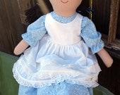 PDF SEWING PATTERN - Playful Prudence Large Rag Doll Sewing Pattern - rag doll pattern, cloth doll pattern, doll clothes, rag dolls, stuffed