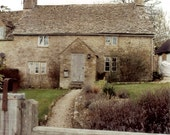 Cotswold Cottage - English Country Home - Original Colour Photograph - ItalianGirlinGeorgia