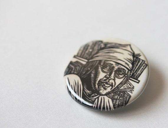 David Foster Wallace Button
