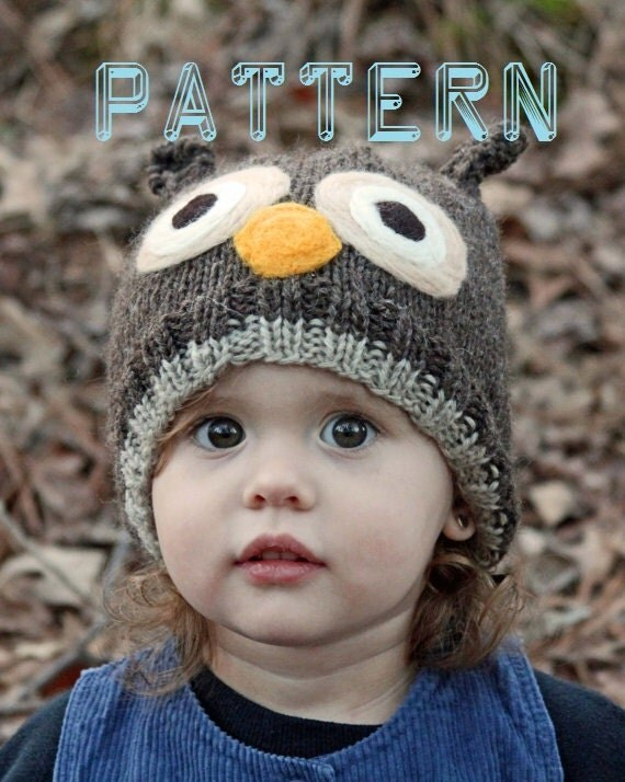 Awesome Owl Hat Knitting Pattern Free Frieze Knitting Pattern