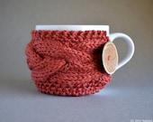 Coffee Cozy, Knit Coffee Sleeve, Coffee Mug Cozy, Knit Coffee Sleeve, Coffee Cup Sleeve, Coffee Cup Cozy, Tea Cozy, Tea Cosy, Gifts Under 20
