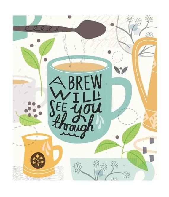 A4 Brew Print