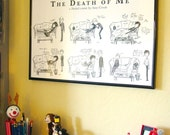 Sherlock BBC - The Death of Me Comic - 11x17 Print - Sherlock Holmes John Watson Mrs Hudson