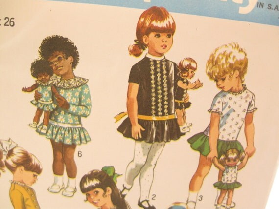 Simplicity 9131: Girls Dancing Dress Pattern