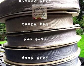 Rayon Seam Binding Ribbon Rail Grey