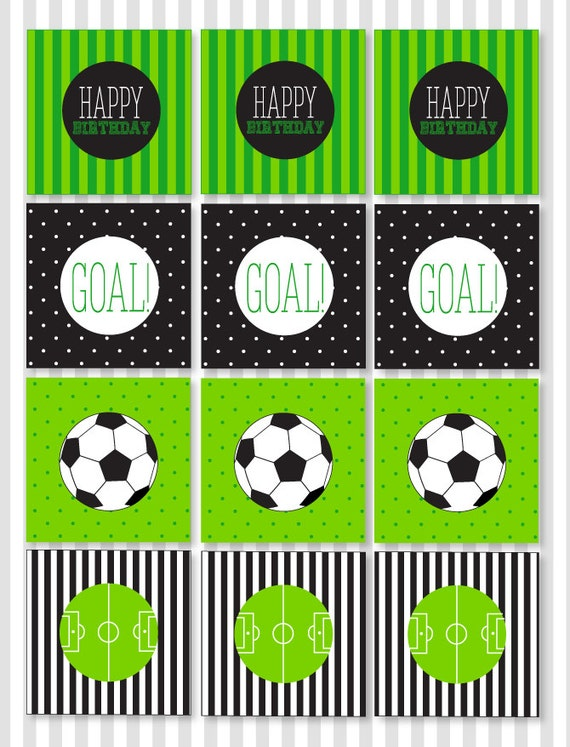 Gorgeous image in soccer printable