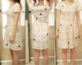The Grumpy Girls dress - an original design by Caitlin Shearer