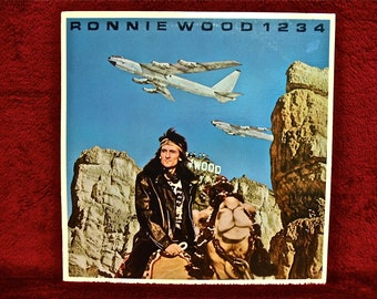 RONNIE WOOD - Ronnie Wood 1234 - 1980 Vintage Vinyl Record Album...PROMOTIONAL Copy