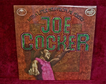 JOE COCKER - With a Little Help From my Friend - 1970 Vintage Vinyl Record Album...ENGLISH Pressing