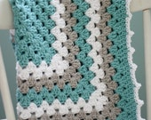 Daisy Cottage Designs Granny Square Blanket Crochet Pattern, Granny Square Crochet Pattern, Easy Crochet Pattern