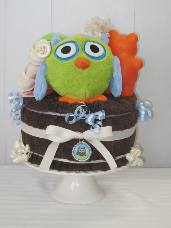 Owl Gift Cake for Dogs-New Dog/Puppy Gift-Pupcake