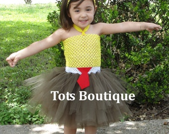 Red Tie Tutu Dress Inspired- Infant