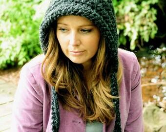 Crochet Hat for Women, Gnome Hat, Pixie Hat, Fall Fashion, Winter Hat