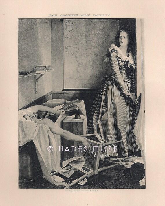 Stabbed to death murder charlotte corday kills by hadesmuse - Fu pugnalato in bagno ...