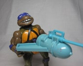 Vintage SEWER SWIMMIN Donatello 1989  TMNT Action Figure Complete