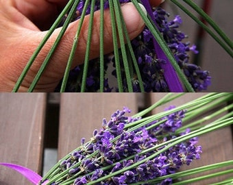 Organic Lavender Wand, Lavender Wedding Summer Outdoors Unique Gift for Bride Lavender Dried Flowers Wedding Gift Wedding wand