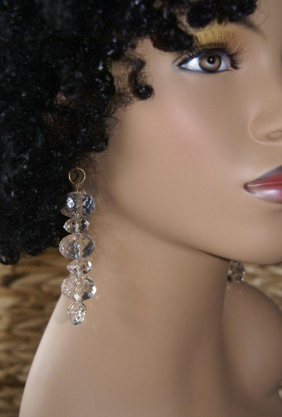 SALE- Beaded Dangle Earrings