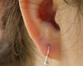 Earrings - Dangle - Silver owl