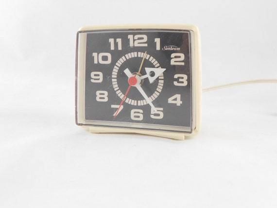 Vintage Electric Alarm Clock by Sunbeam