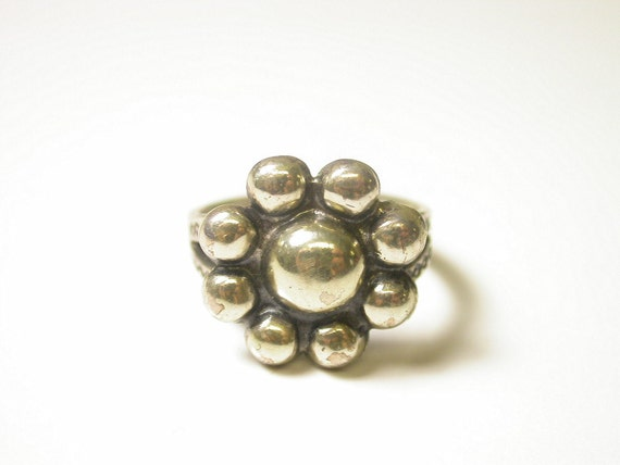 sterling silver southwestern ring size 5 weight by