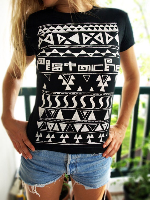 Find high quality printed Aztec Women's T-Shirts at CafePress. Browse unique designs created by artists and designers all over the world. Classic T-Shirts, Super Soft Tri-Blend T-Shirts, Baseball Tees, Football T-Shirts and more! Free Returns High Quality Printing Fast Shipping.