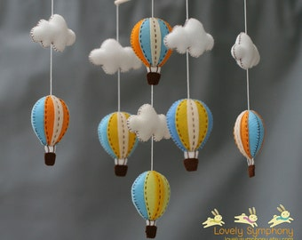 Miami baby mobile - vintage sky baby mobile - sunset sky baby mobile