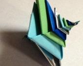 Origami Sea Spiral (Espiral by Tomoko Fuse)