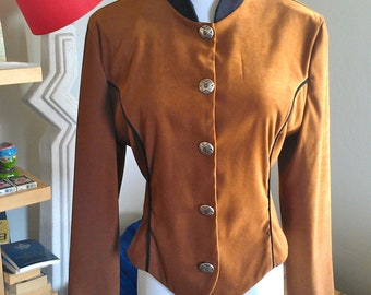 SALE 33% OFF: 1970's Western Cropped Jacket by Banjo