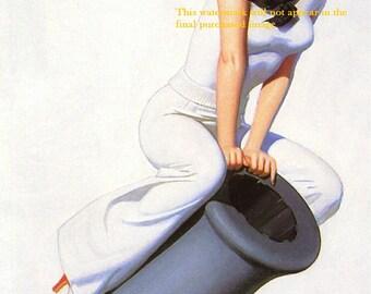Art Print US Navy Poster - Recruiting Women - Print 8 x 10