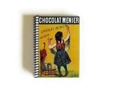 Chocolat - Blank Recipe Book - Spiral Bound - 4x6in