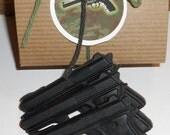 GUN SOAP, Cold Water Scented  , Mini Pistol Gun Gift Set-Gift Set for Men- Police Officer Gift