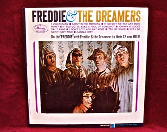 FREDDIE & the DREAMERS - Freddie and the Dreamers - 1965 Vintage Vinyl Record Album