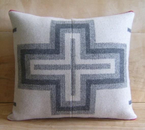 Pendleton Wool Pillow, 14x15