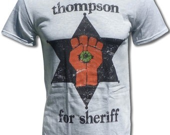 Thompson For Sheriff T Shirt - Graphic Tees For Men, Women & Children