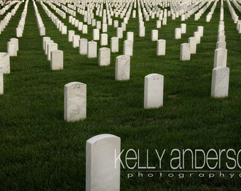 Arlington National Cemetery, Fort Myer, VA / 12x18 or Custom Size Lustre Print (other sizes available-see below)