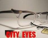 1950s (France) CatEyes vintage optical frames eyeglasses eye glasses sun sunglasses eyewear eye wear cat eye cateye retro 1950s NOS