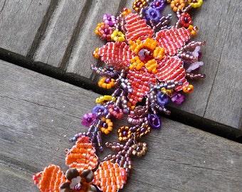 Plant autumn bracelet