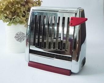 Vinatge Rowenta German inox toaster from 1970s- old bread toaster- German inox toaster