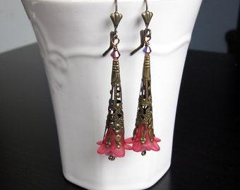 Fairy Trumpet Earrings