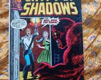 Crypt Of Shadows no 4 Marvel Comics 1973 Horror Monster Carmine Infantino art Sci Fi Comic Book
